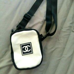 Chanel VIP sports nylon bag